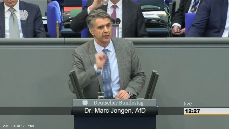 Altparteien toben weil Dr. Marc Jongen AfD die Wahrheit über die Situation an Schulen anspricht