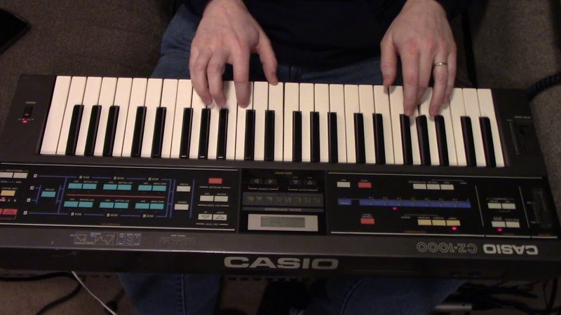 Casio CZ-1000 Demo