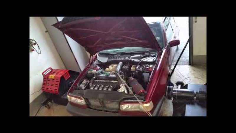 Volvo 850 950hp 2 2bar HX60 2015 Dyno