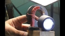 Free energy generator вечный фонарик из магнитов