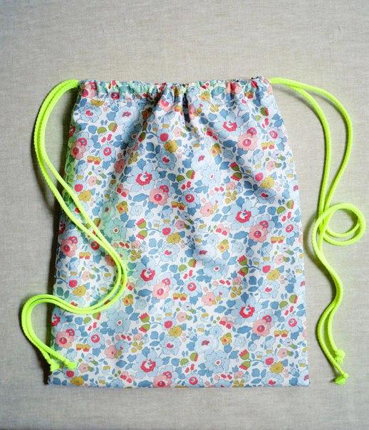 Как пошить рюкзак из ткани своими руками