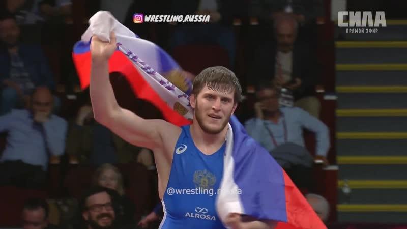 Abuiazid Mantsigov - European Champion 2019 72kg!