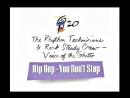 RHYTHM TECHNICIANS ROCK STEADY CREW HIP-HOP YOU DON'T STOP (1992)