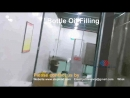 How Canada customer filling capping packaging bottled oil fully automatically 2