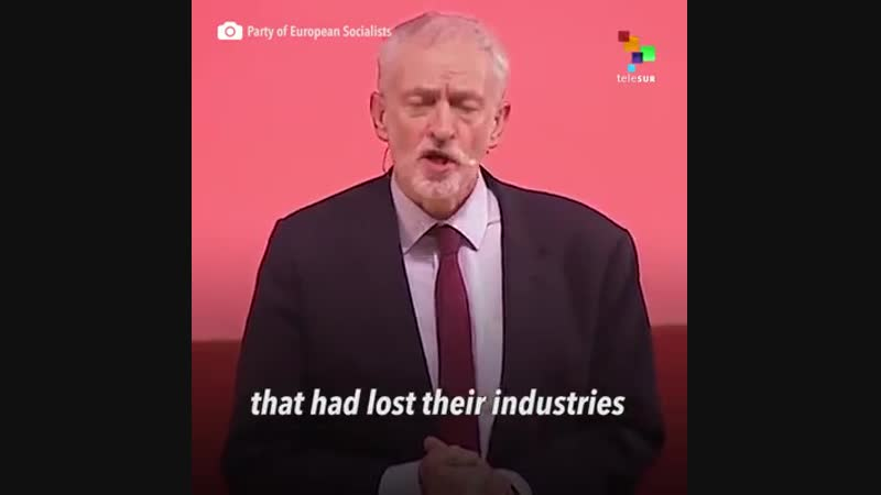 The leader of the British Labour Party Jeremy Corbyn claimed poverty and inequality are some of the reasons for the results of