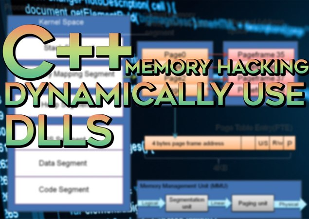 C/C Memory Hacking — Dynamically Use Dlls || Hide API Calls