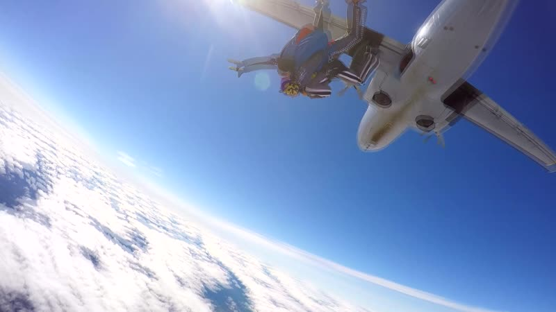 Прыжок с парашютом 05.08.18