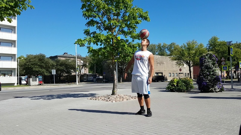 Basketball freestyle 1
