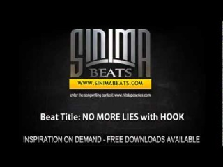 NO MORE LIES with HOOK (Instrumental produced by Sinima Beats)