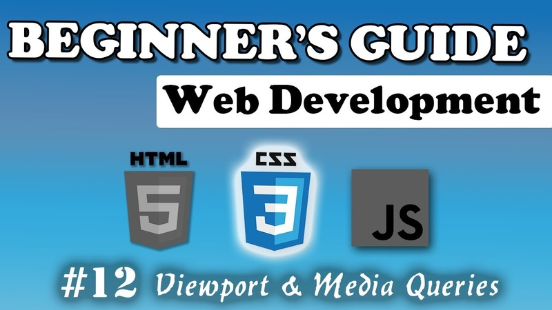 CSS - Media Queries Viewport | Beginners Course | 12