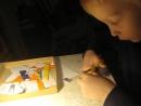 Мы учимся работать ножницами Только месяц занятий в школе прошел а ребенок уже интересуется а сколько ему еще учиться