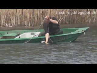Рыбалка в Германии - 14 , Электроудочка и сети , часть 2