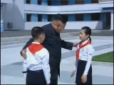 Kim Jong Un at reopening of renovated Songdowon International Children's Camp in North Korea