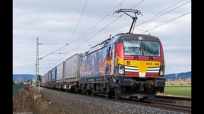 Güterverkehr auf der Frankenwaldbahn - Rasender Roland, Albatros, Feuer Taurus uvm.