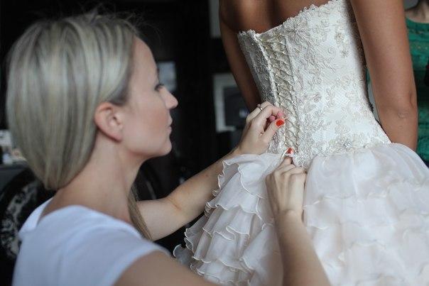Как сшить свадебное платье своими руками видео