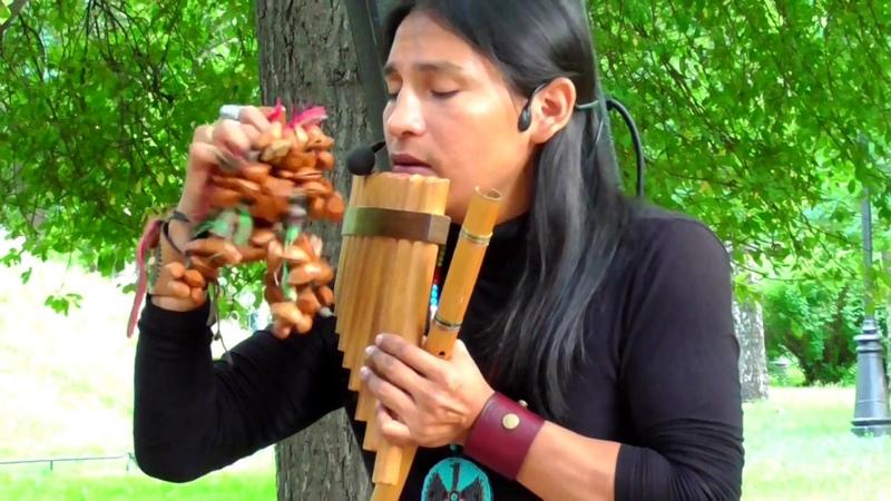 Condor Pasa. Полет кондора. Музыка индейцев. Alpa «Ecuador Spirit».