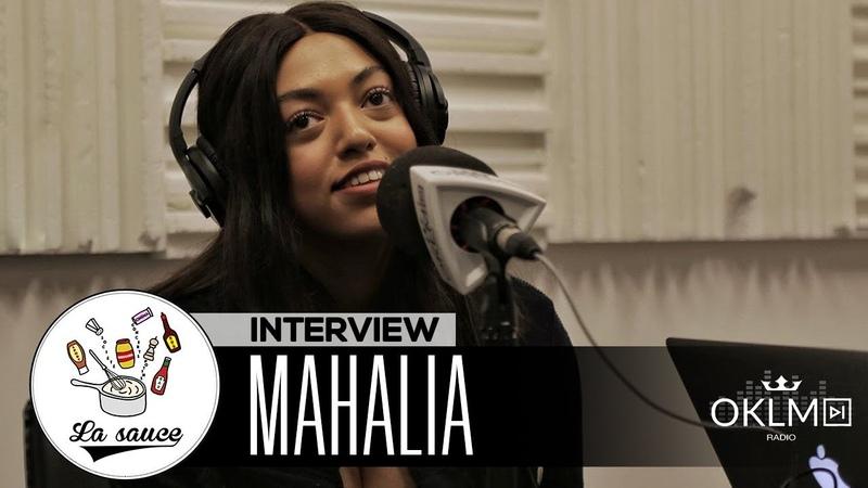 MAHALIA (Seasons, influences, scène r'n'b anglaise, Ed Sheeran) - LaSauce sur OKLM Radio 07/11/18 {OKLM TV}