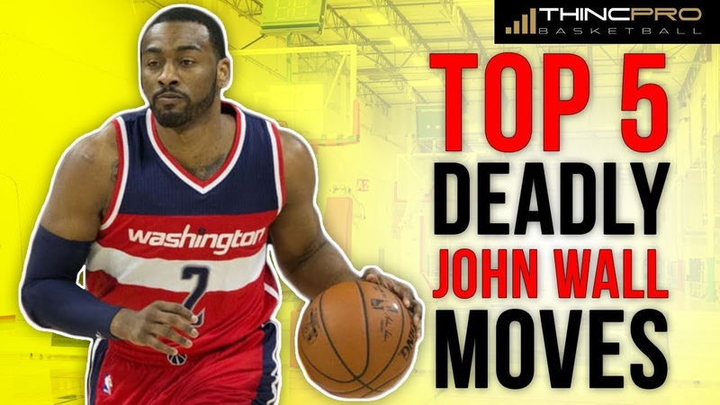 How to: TOP 5 John Wall DEADLY NBA SCORING MOVES Basketball Ankle Breakers and KILLER CROSSOVERS!