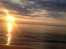 Закат. Море. Зеленоградск