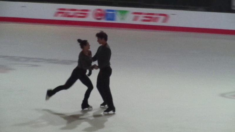 Tessa and Scott CTNSC17 Gala Practice Sorry