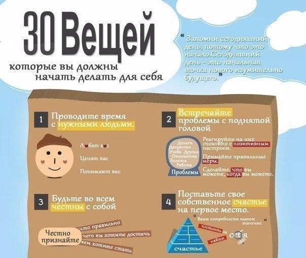 Как измениться к лучшему - 30 шагов