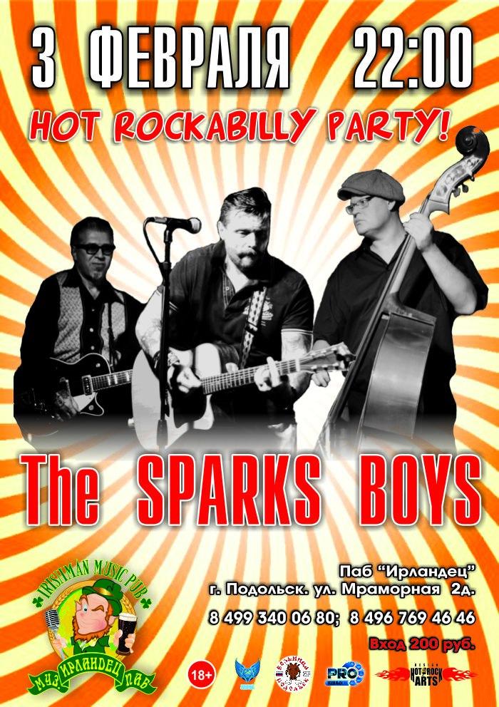 03.02 The Sparks Boys в пабе Ирландец!