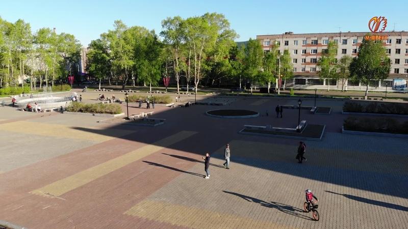 Площадь Победы 8 июня 2018 г. Николаевск-на-Амуре