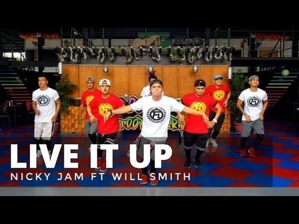 LIVE IT UP by Nicky Jam | Zumba® | Pop | TML Crew Paulo Mandigma