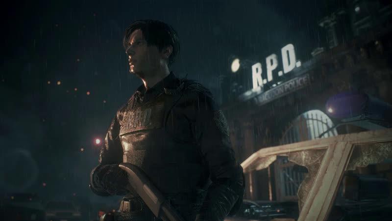 Resident Evil 2 Remake - Проходим за Клер