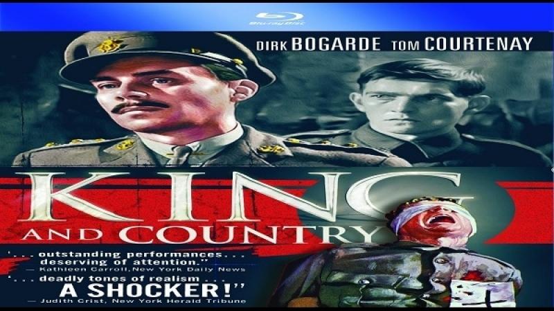 1964 Joseph Losey - Per il re e per la patria dual mux -Dirk Bogarde Tom Courtenay Leo McKern Barry Foster