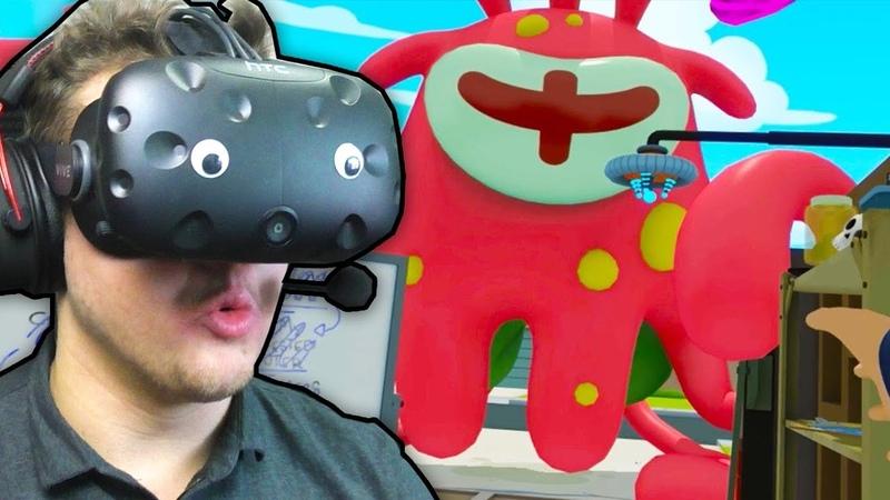 Rick and Morty: VR 2 | Огромный монстр | HTC VIVE | Упоротые игры