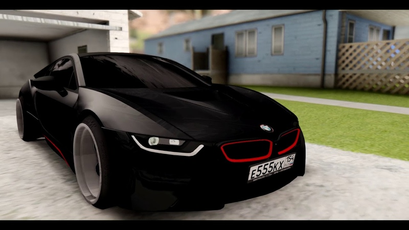 MTA Radmir | Showcase BMW i8 Drift чип (by XAH)