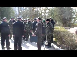 Захват воинской части в Перевальном. Крым