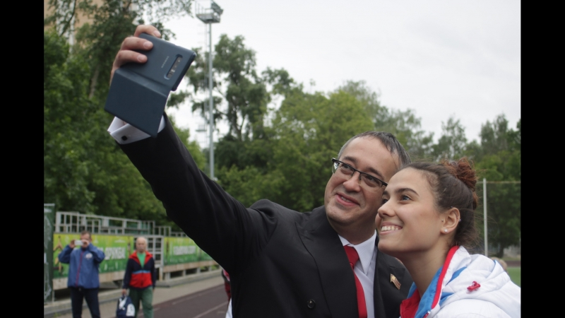 Алексей Шапошников, спикер МГД открывает КубокЕР в СВАО