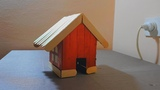 How to make a small house from tetra pak boxDIY