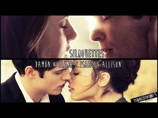 Isaac & Allison / Damon & Elena l Silhouettes
