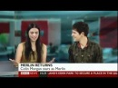 Merlin - Colin Morgan and Katie McGrath on BBC Breakfast