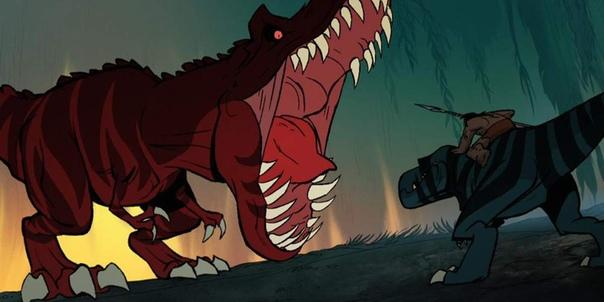 МУЛЬТФИЛЬМ «ПЕРВОБЫТНЫЙ»: ХРОНИКА ВЫЖИВАНИЯ ЧЕЛОВЕКА СРЕДИ ДИНОЗАВРОВ Автор статьи - Евгений Белаш Источник - Пещерный человек скачет верхом на тираннозавре и побеждает ужасных монстров в