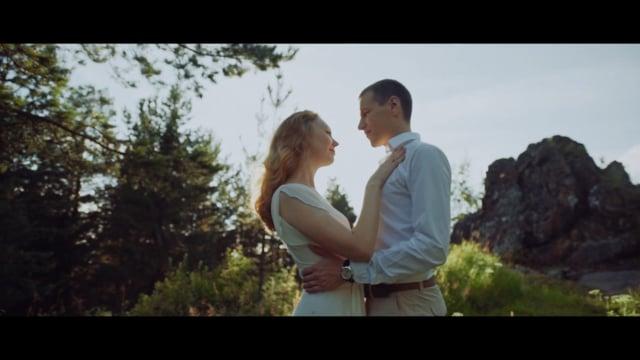 Фрагмент музыкального фильма, Анна и Александр.