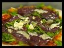 La vera pizza Pizza de rúcula bresaola y grana padano Pescado al horno