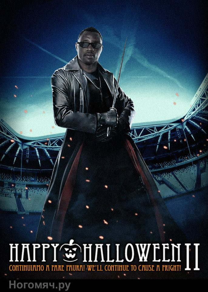Kwadwo Asamoah, Blade. Juventus Monsters Halloween II