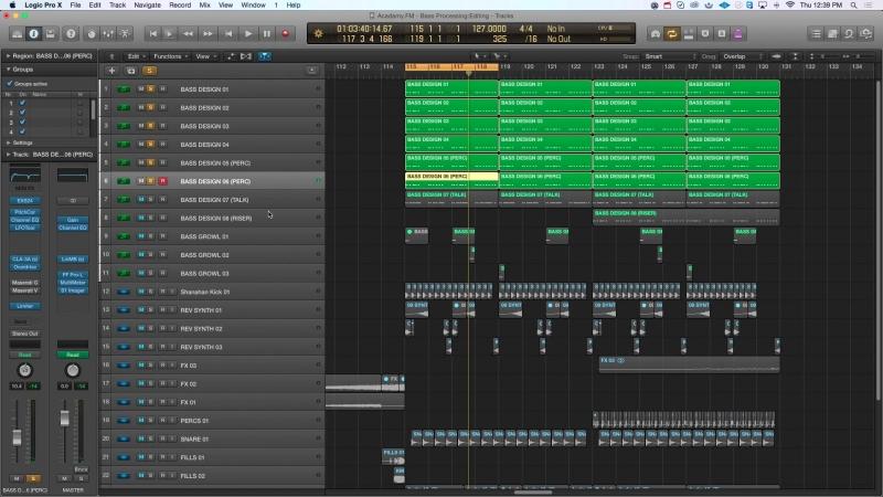 Academy.fm - Bass Processing Layering