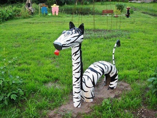 Зебра для сада