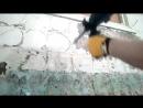 Как снять старую краску со стен при ремонте в ванной для качественной укладки пл