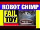 FAIL Robot Monkey Funny.Video Toy Review by Mike Mozart of JeepersMedia on YouTube EPIC