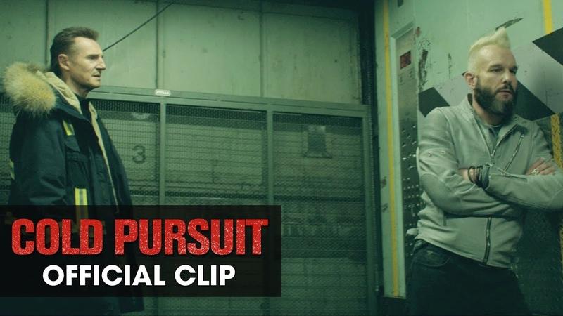 "Cold Pursuit 2019 Movie Official Clip Tell Me"" Liam Neeson Laura Dern Emmy Rossum"