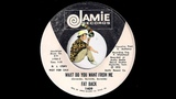 Fat Back - What Do You Want From Me Jamie 1972 Psych Folk Rock 45