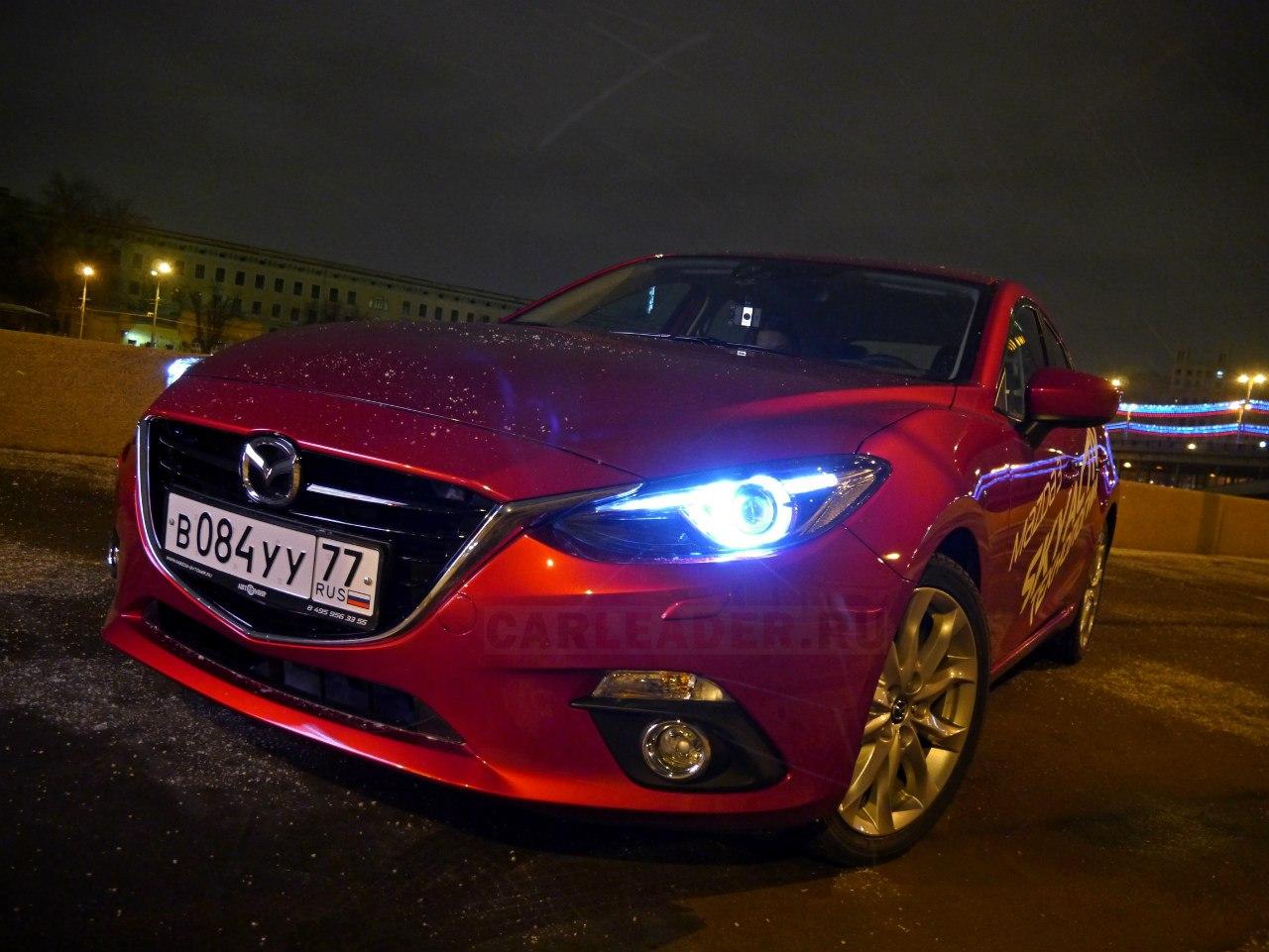 Капот Mazda3 2014