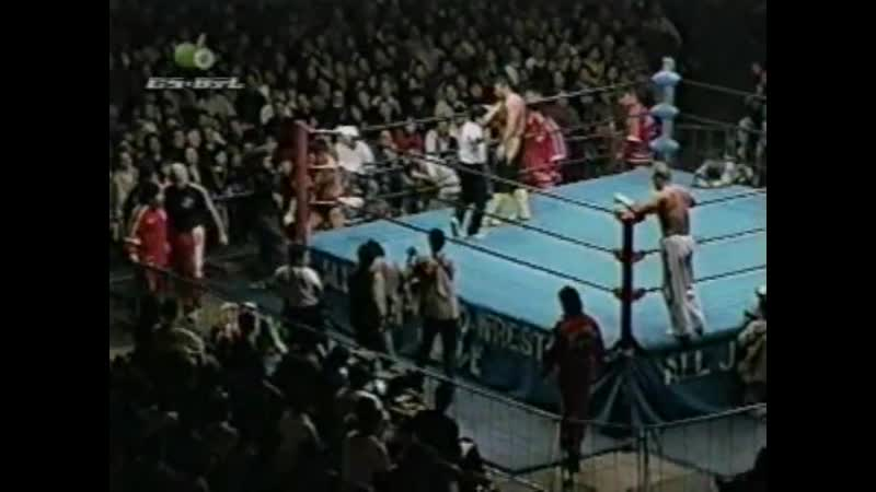 1999.01.15 - Toshiaki Kawada/Akira Taue vs. Mitsuharu Misawa/Jinsei Shinzaki