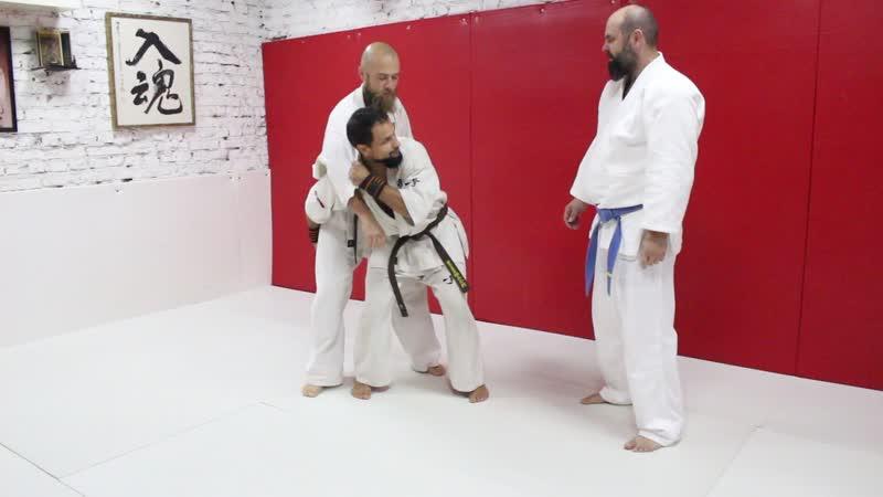Максим Горфункель японское дзю-дзюцу